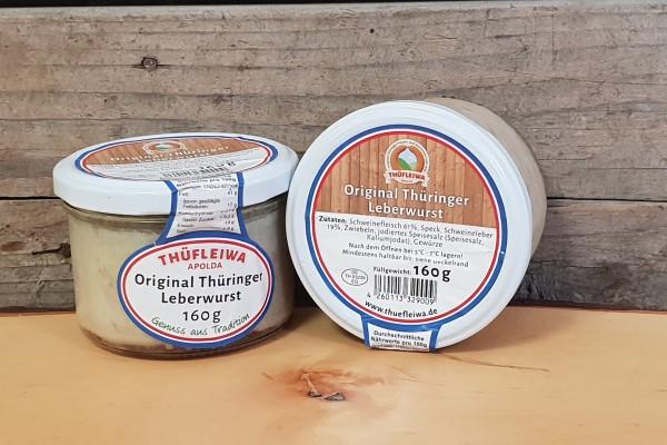 Original Thüringer Leberwurst im Glas