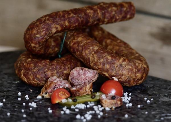 Thüringer Knackwurst ausgereift