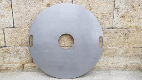 Feuerplatte DN 70 für Kugelgrill